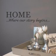 HOME...Where our story begins...